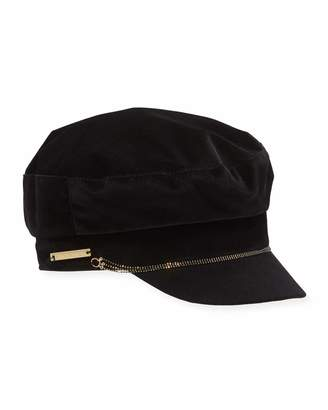 Vince Camuto Triple Bead Chain Military Hat