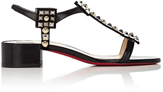 Christian Louboutin Women's Kaleidra T-Strap Sandals