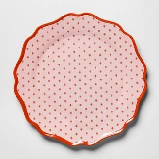 """Opalhouse Melamine Dinner Plate 10.5"""" Pink/Red"""