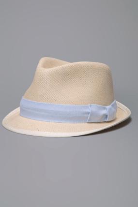 Rag & Bone Trilby Fedora Hat Natural