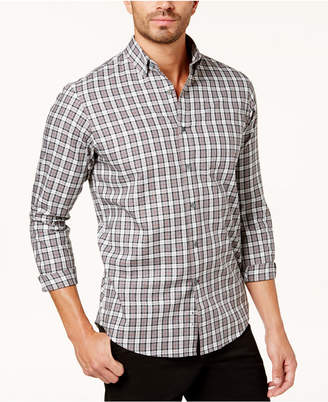 Club Room Men's Tartan Shirt