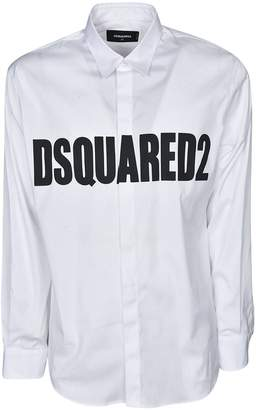DSQUARED2 Logo Printed Shirt