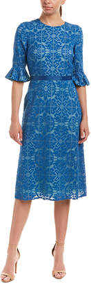 Kay Unger Midi Dress