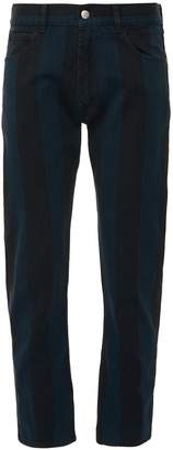Marni Stripe straight leg jeans