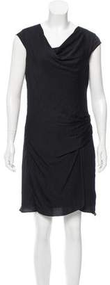 Helmut Lang Cowl Neck Sleeveless Dress