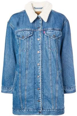 Levi's longline denim jacket
