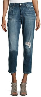 DL 1961 Goldie High-Rise Tapered Jeans, Morgan $198 thestylecure.com