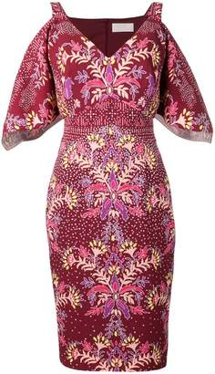 Peter Pilotto fitted midi dress