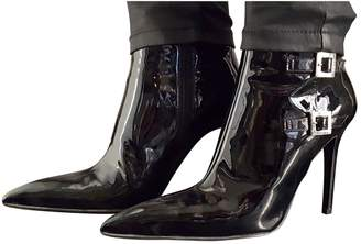 Ballin Shoes Patent Leather Ankle Boots
