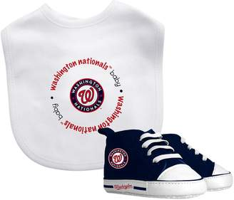 Baby Fanatic Kohl's Washington Nationals Bib and Pre-walker Set