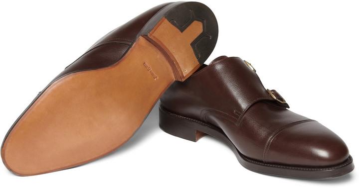 John Lobb William Leather Monk-Strap Shoes