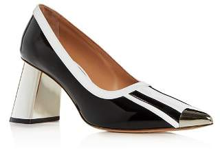 Marni Women's Pointed-Toe Block-Heel Pumps