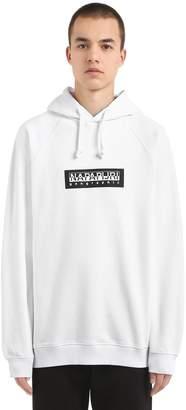 Napapijri Hooded Logo French Terry Sweatshirt