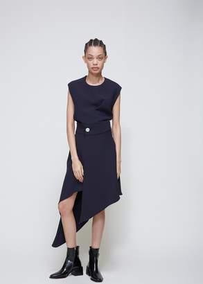 Ji Oh Double Draped Skirt