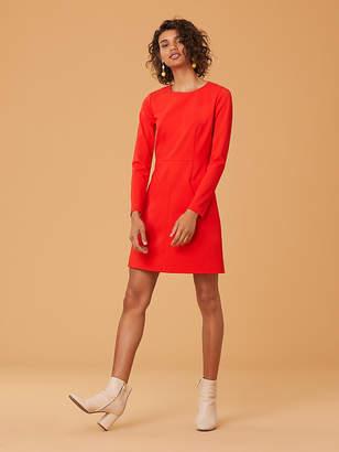 Diane von Furstenberg Long Sleeve Capreena Dress
