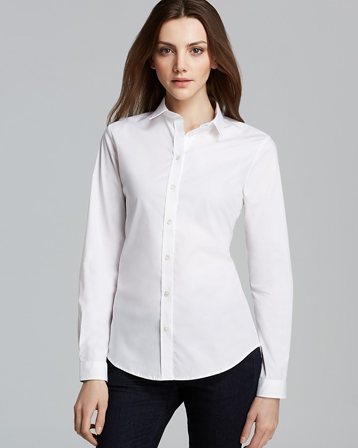 Burberry Basic Button Down Blouse