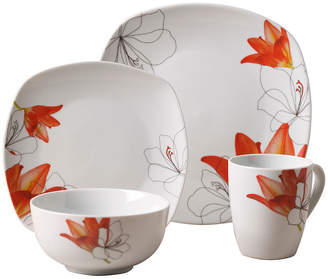 ... Tabletops Unlimited Tabletops Gallery Lily 16 Pc. Ceramic Dinnerware Set