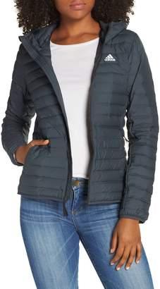 adidas Varilite Water Repellent Hooded 600-Fill-Power Down Jacket