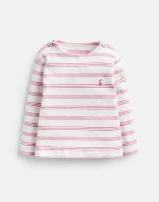 e74c9cf34 Joules Cream Pink Stripe Harbour Stripe Top Size 12M-18M