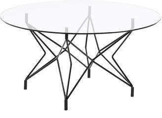Linea Furniture Glen Metal & Glass Coffee Table