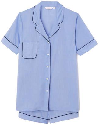 Derek Rose Shortie Pajamas - X-Small