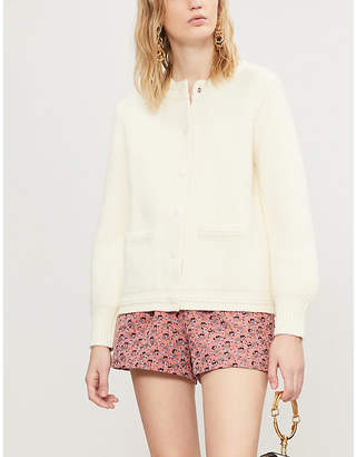Claudie Pierlot Mathias knitted cardigan