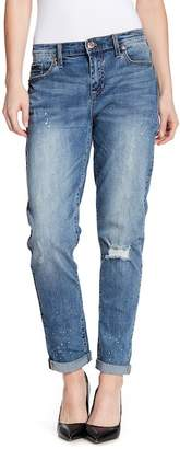 Seven7 High Rise Girlfriend Fit Jeans