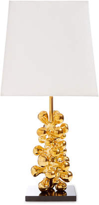 Jonathan Adler Brass Orb Table Lamp