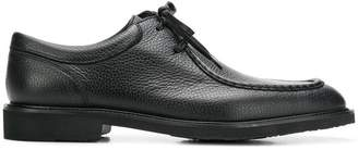Moreschi square toe lace-up shoes