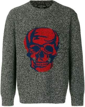 Alexander McQueen skull-motif jumper