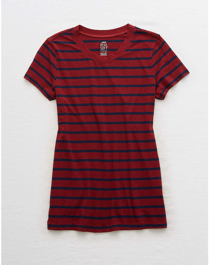 Aerie Real Soft Crew Tee