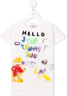 Denim Dungaree Hello T-shirt