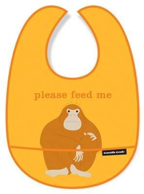 Crocodile Creek Bib - Please Feed Me