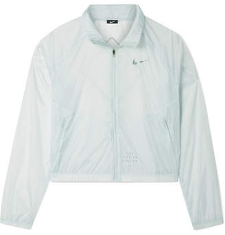 Nike Run Division Cropped Shell Jacket - Mint