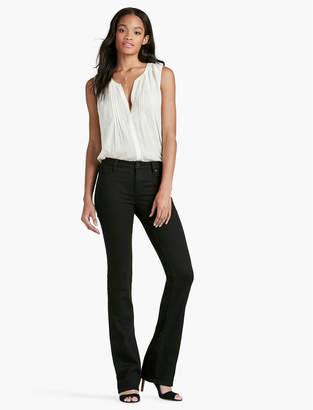 Lucky Brand Hayden High Rise Sculpting Bootcut Jean In Black Amber