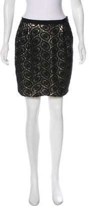3.1 Phillip Lim Sequined Mini Skirt