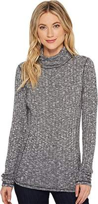Michael Stars Women's Jasper Poor Boy Long Sleeve Turtleneck
