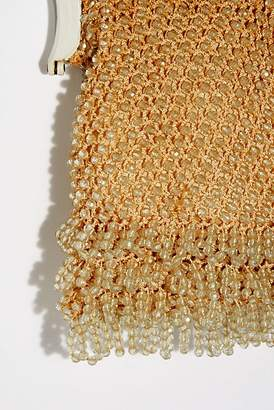 Vintage Loves Vintage 1960s Beaded Crochet Bag