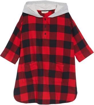Tucker + Tate Hooded Flannel Dress