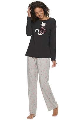 b706e8ca4a So Juniors  SO Graphic Dolman Tee   Pants Pajama Set