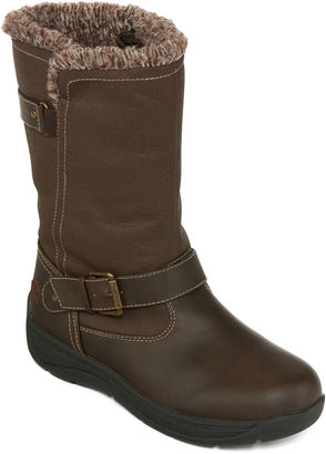 Totes Ashley Mid-Rise Winter Boots $90 thestylecure.com