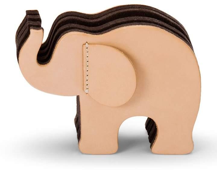 Graf Von Faber-castell Small Leather Elephant Pen Holder