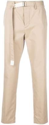 Sacai belted trousers