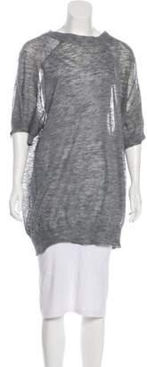 Etoile Isabel Marant Linen-Blend Knit Tunic