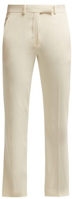 Etro Violante Straight Leg Cady Trousers - Womens - Ivory
