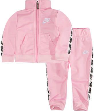 Nike F18 Nb Sets Ecom 2-pc. Logo Pant Set Baby Girls