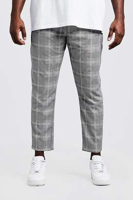 Big & Tall Prince Of Wales Cropped Jogger
