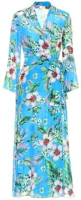 Diane von Furstenberg Floral cotton and silk dress