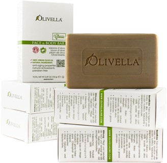 Olivella Set of 6 100% Virgin Olive Oil Beauty Bars