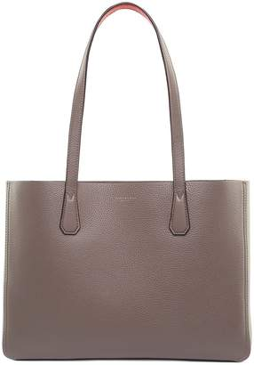 Tory Burch Phoebe Pebbled-leather Reversibile Tote